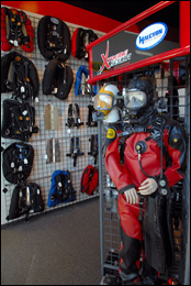 Xtreme Scuba Dive Shop sales floor